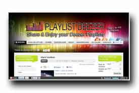 screenshot de www.playlist-deezer.com