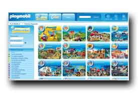 screenshot de www.playmobil.fr