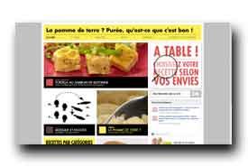 screenshot de www.recette-pomme-de-terre.com