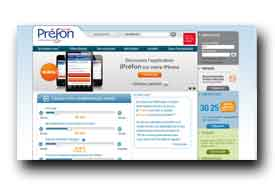 screenshot de www.prefon-retraite.fr