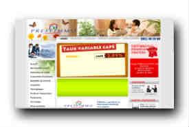 screenshot de www.pretfimmo.com