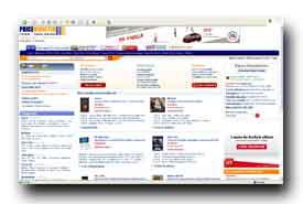 screenshot de www.priceminister.fr