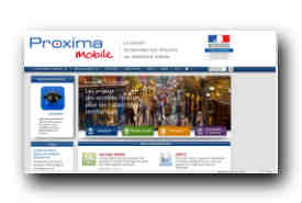 screenshot de www.proximamobile.fr