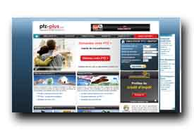 screenshot de www.ptz-plus.com
