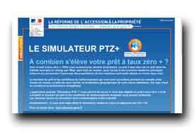 screenshot de www.ptz-plus.gouv.fr