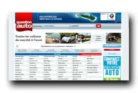 screenshot de www.questionauto.fr