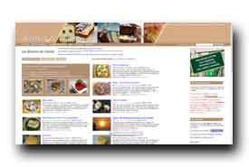 screenshot de recettes.de/cuisine