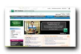 screenshot de recrutement.bnpparibas.com