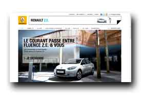 screenshot de www.renault-ze.com