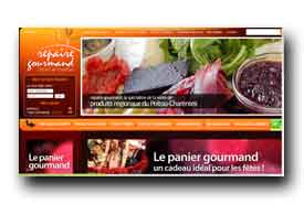 screenshot de www.repaire-gourmand.com