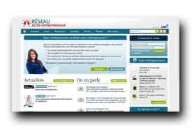 screenshot de www.reseau-auto-entrepreneur.fr