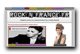 screenshot de www.rocknfrance.fr