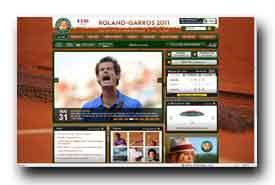 screenshot de www.rolandgarros.com