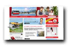screenshot de www.rubson.com