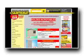 screenshot de www.sainthimat.com