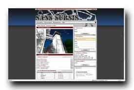 screenshot de www.sans-sursis.com