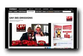 screenshot de www.canalplus.fr/c-humour/pid1782-c-sav-des-emissions.html