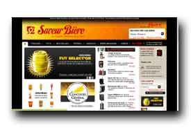 screenshot de www.saveur-biere.com