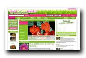 screenshot de www.savoirtoutfaireaujardin.com