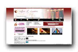 screenshot de www.senteurs-et-lumieres.com