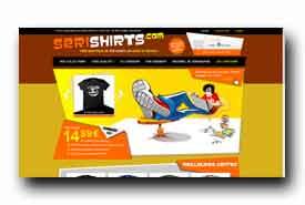 screenshot de www.serishirts.com