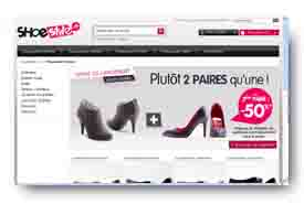 screenshot de www.shoestyle.fr