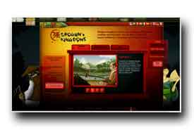 screenshot de www.shogunkingdoms.com