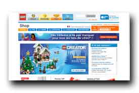 screenshot de shop.lego.com