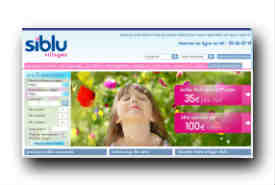 screenshot de www.siblu.fr
