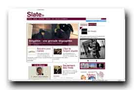 screenshot de www.slate.fr