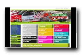 screenshot de www.sticker-auto.com