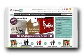 screenshot de www.stickerzlab.com
