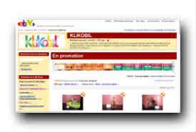 screenshot de stores.ebay.fr/KLIKOBIL