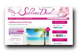 screenshot de www.sublimedeal.com