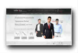 screenshot de www.tailor4less.com