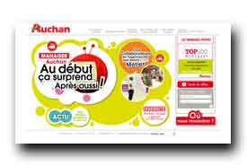 screenshot de www.talent.auchan.fr