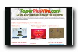 screenshot de www.taperplusvite.com