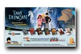 screenshot de www.taraduncan.com