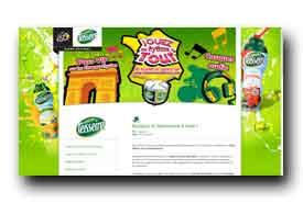 screenshot de www.teisseiretourdefrance.com