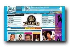 screenshot de www.teleenboite.com