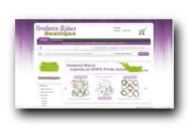 screenshot de www.tendancebijoux.com