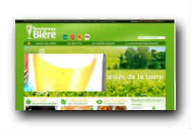 screenshot de www.tendancesbiere.fr