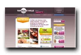 screenshot de www.topdealenville.fr