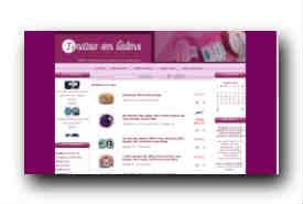 screenshot de www.toutesenlaine.com