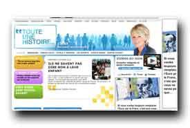 screenshot de toute-une-histoire.france2.fr