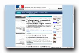 screenshot de www.travail.gouv.fr