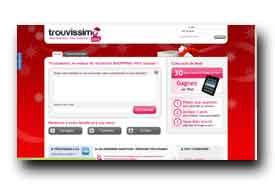 screenshot de www.trouvissimo.com