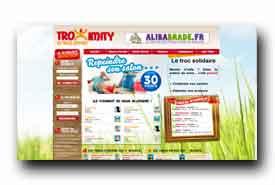 screenshot de www.troximity.com