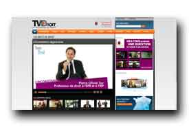screenshot de www.tvdroit.fr