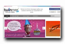 screenshot de www.twinmee.com